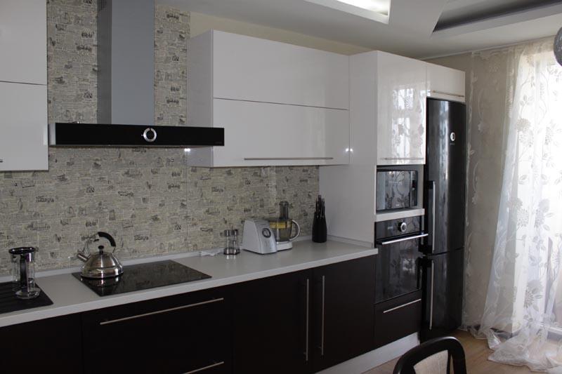 Стильные кухни белая кухня